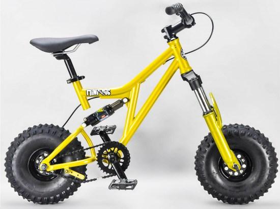 Rocker Reggie Prospector Mini BMX Bike Gold
