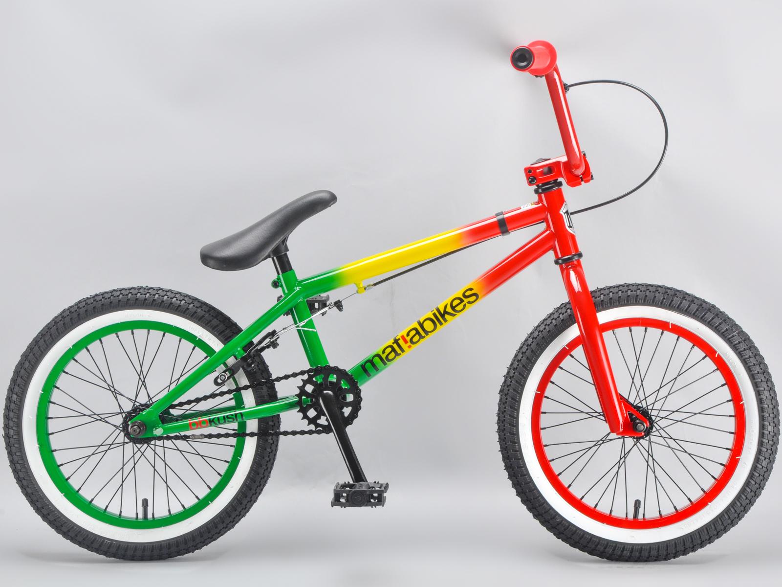 Mafiabikes BB Kush 16 Inch Kids BMX Bike Multiple Colours
