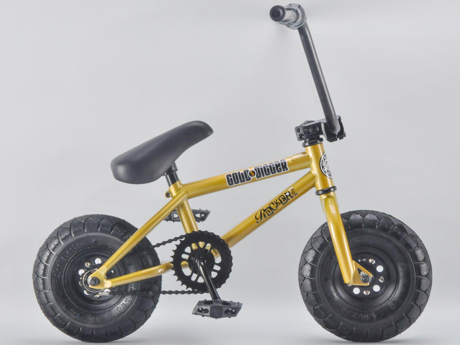 rocker bmx mini bmx bike gold digger irok rkr ebay. Black Bedroom Furniture Sets. Home Design Ideas