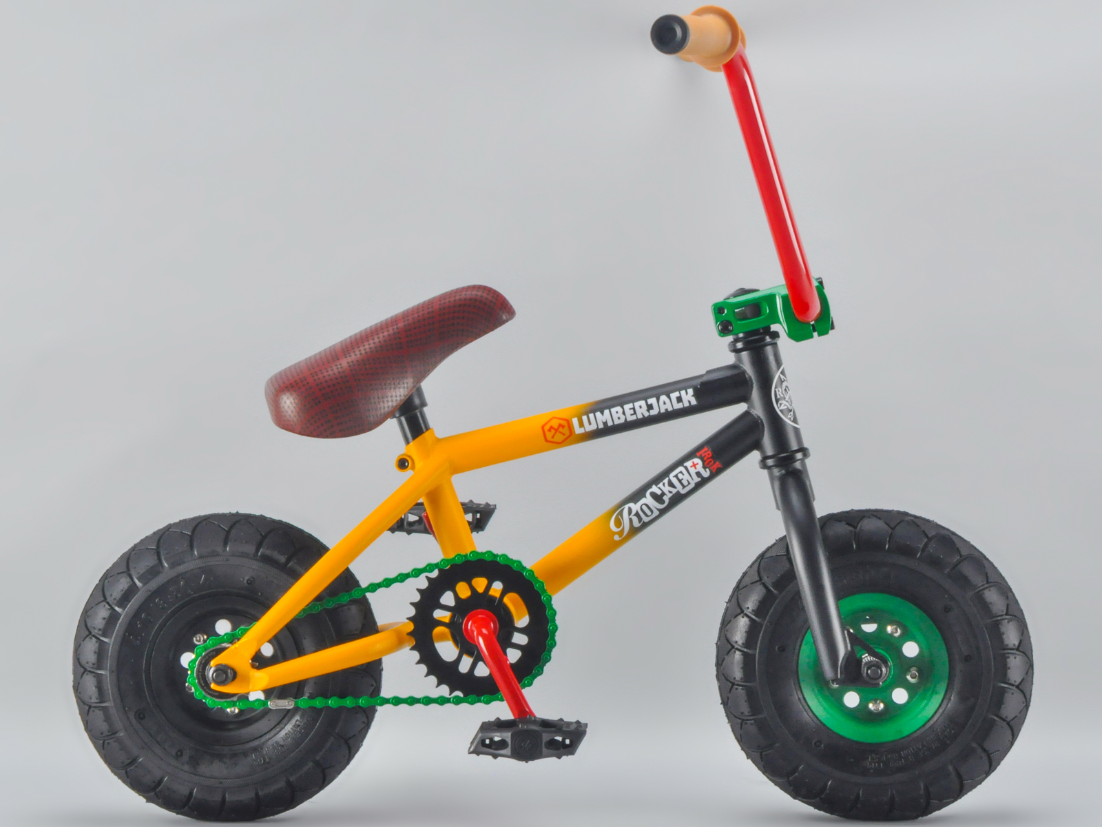 rocker bmx mini bmx bike lumberjack irok rkr ebay. Black Bedroom Furniture Sets. Home Design Ideas
