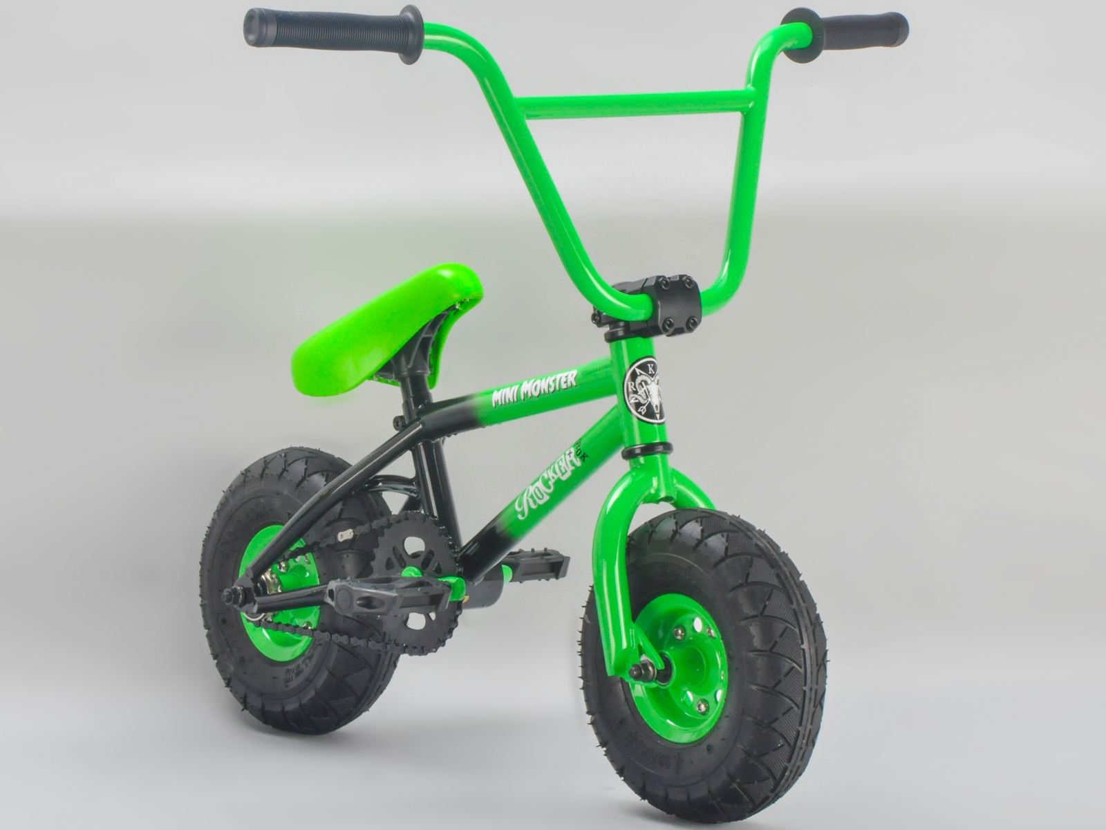 Rocker Bmx Mini Bmx Bike Mini Monster Green Irok Rkr Ebay