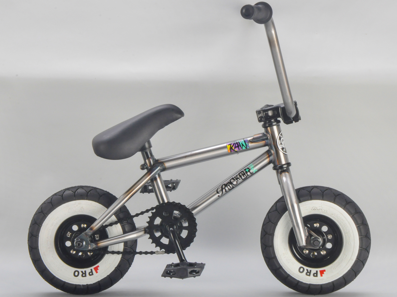 Rocker Bmx Mini Bmx Bike Raw Irok Rkr Ebay