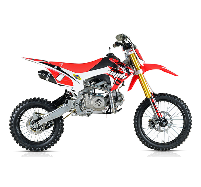 WPB 140 Race RED Welshpitbikes Pit Dirt Bike Stomp wpb140 Demon X ...