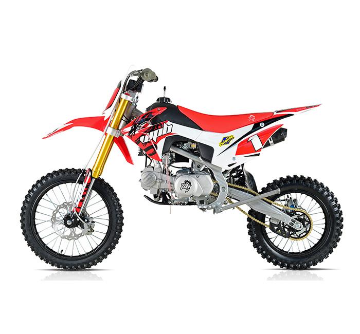 wpb 140 race red welshpitbikes pit dirt bike stomp wpb140 demon x 17hp ebay. Black Bedroom Furniture Sets. Home Design Ideas